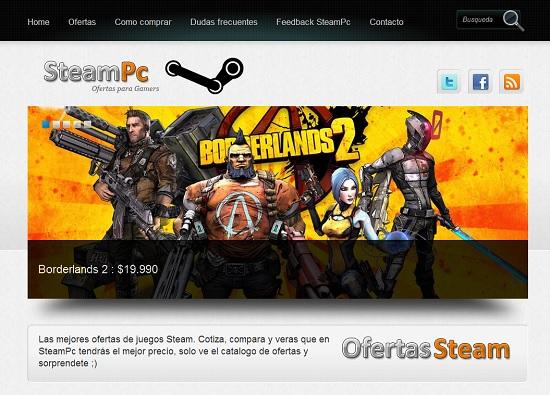 SteamPc Ofertas juegos steam