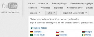 youtube canal chile