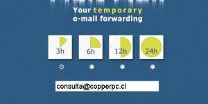 Melt mail correo temporal