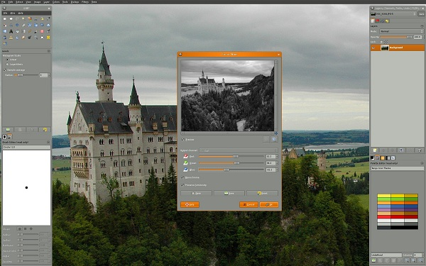 Gimp 2.8 ventana windows