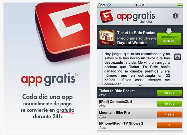 Appgratis iphone ipad ipod