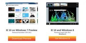 Internet Explorer 10 Windows 7