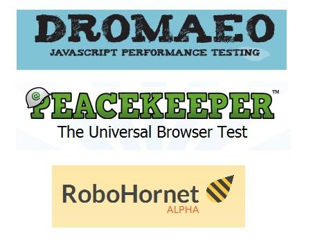 RoboHornet Peacekeeper Dromaeo