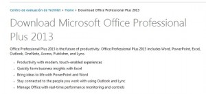 descarga Office Professional Plus 2013