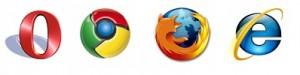 navegadores opera chrome IE9 firefox