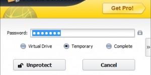 Folder Protector desbloquear archivos ocultos