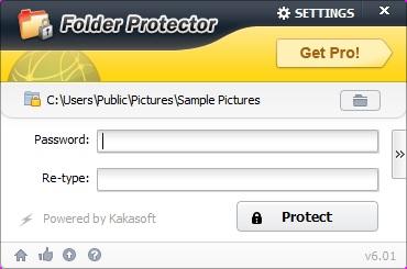Folder Protector proteger contraseña