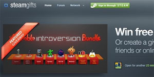 steam gifts free game