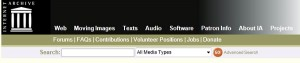 Internet Archive descarga gratis peliculas libros musica clasica